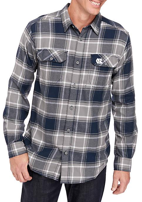Columbia NCAA Long Sleeve Collegiate Flannel Shirt