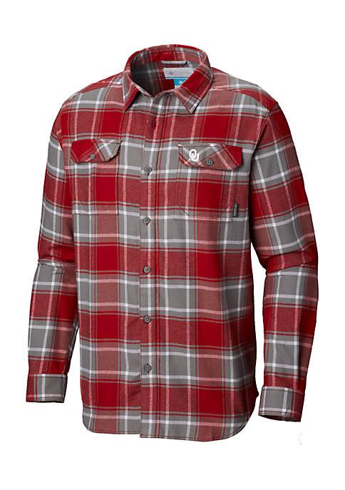 NCAA Long Sleeve Collegiate Flannel Shirt