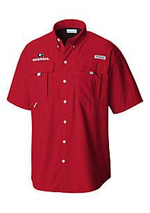 Columbia Big & Tall Collegiate Bahama Button Down Shirt