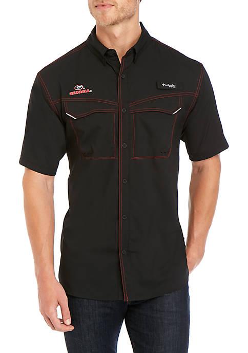 Columbia NCAA Low Drag Offshore™ Short Sleeve Shirt