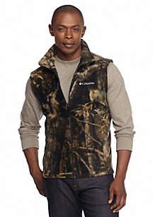 Steens Mountain Printed Fleece Vest