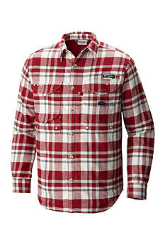 Columbia Long Sleeve PFG Bonehead™ Flannel Shirt Jacket