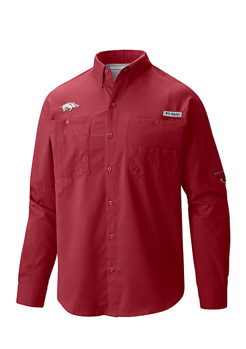 Columbia Collegiate Tamiami Long Sleeve Shirt