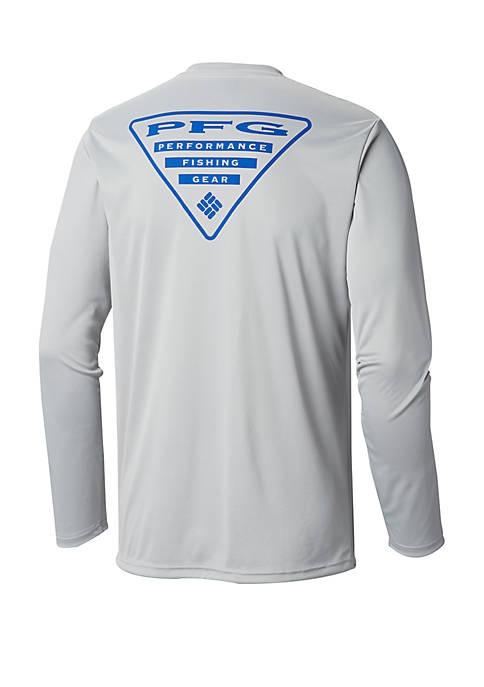 Columbia PFG Terminal Tackle™ Triangle Long Sleeve Tee
