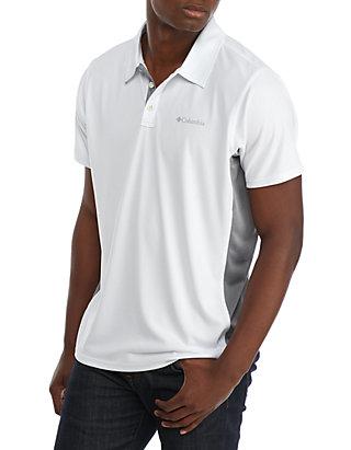 Cool Coil™ Button Polo Shirt