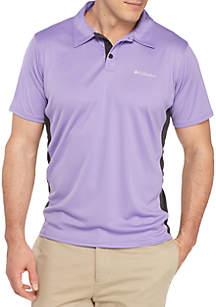 Big & Tall Cool Coil Button Down Polo Shirt