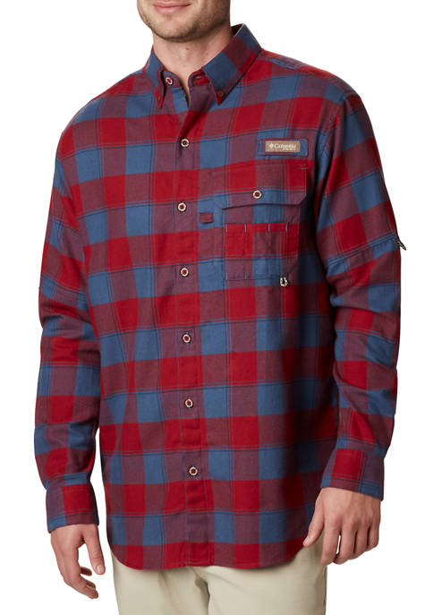 Columbia Sharptail Flannel Long Sleeve Shirt
