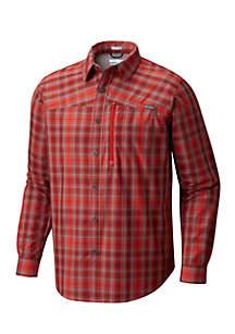 Long Sleeve BattleRidge Woven Plaid Shirt