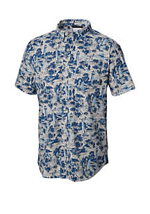 f473b3736c0 Columbia PFG Terminal Tackle Hoodie · Columbia Printed Rapid River Short  Sleeve Shirt
