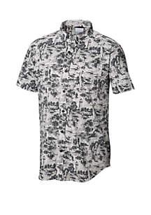 Columbia Printed Rapid River Short Sleeve Shirt
