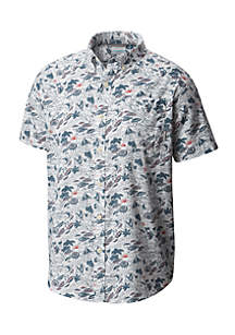 Printed Rapid River Short Sleeve Shirt