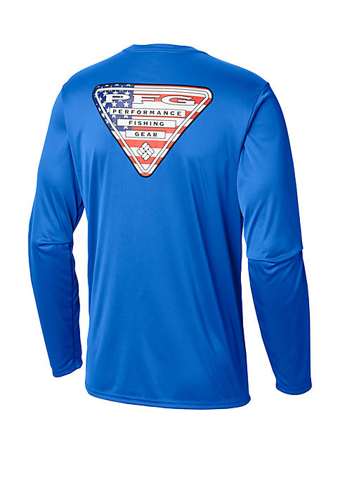 Columbia Terminal Tackle PFG Triangle Flag™ Long Sleeve