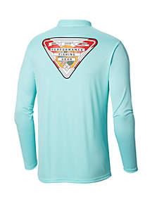 Columbia Terminal Tackle PFG Triangle Flag™ Long Sleeve Shirt