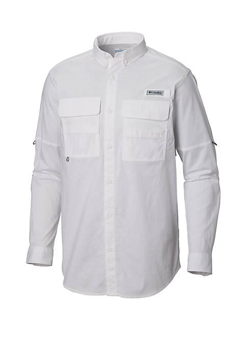 Columbia Half Moon™ Long Sleeve Button Down Shirt