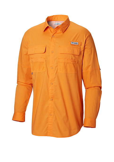 Columbia Half Moon™ Long Sleeve Button Down Shirt