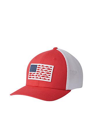 6140d2b003f04e Columbia PFG Mesh™ Fish Flag Ball Cap | belk