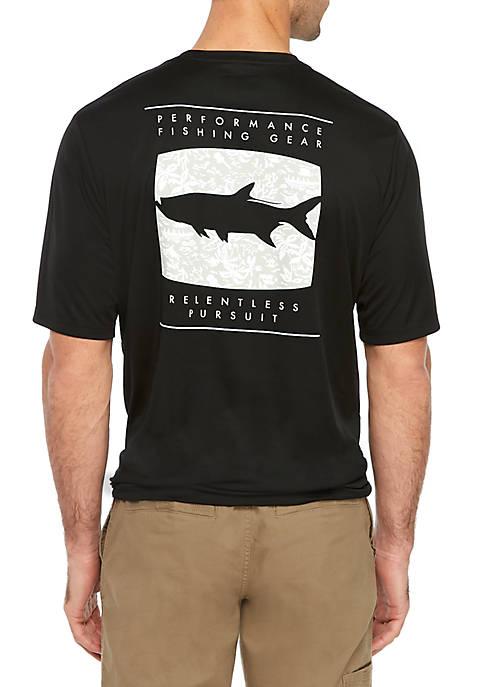 Columbia Printed Terminal Tackle Short Sleeve Shirt
