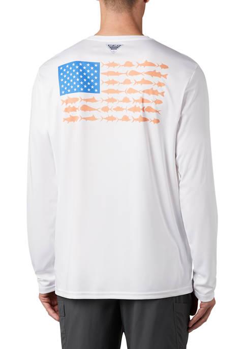 Columbia PFG Terminal Tackle™ Fish Flag T-Shirt
