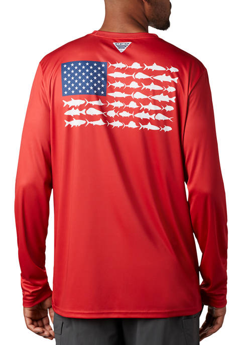 PFG Terminal Tackle™ Fish Flag T-Shirt