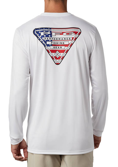 Terminal Tackle PFG™ Country Triangle Long Sleeve Shirt