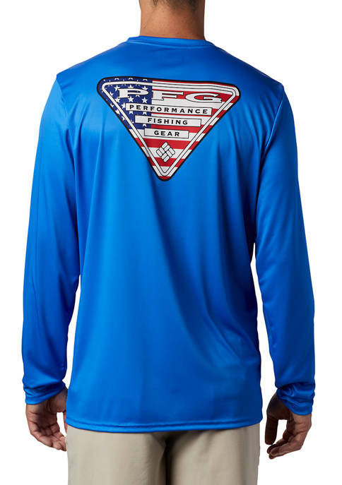 Columbia Terminal Tackle PFG™ Country Triangle Long Sleeve