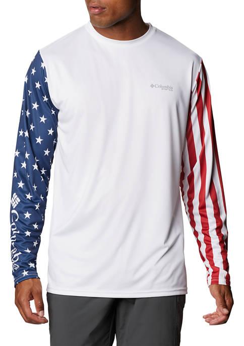 Columbia Terminal Tackle PFG™ Americana Long Sleeve Shirt
