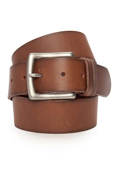 Columbia Cigar Brown Leather Belt