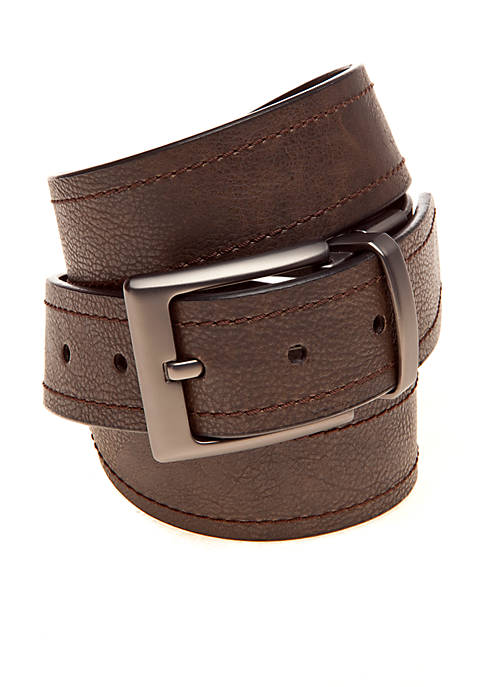 Columbia Reversible Leather Belt