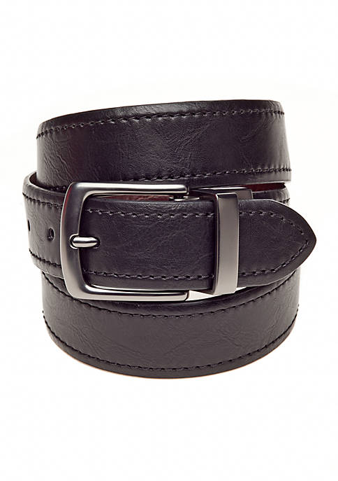 Columbia Reversible Adamine Leather Belt