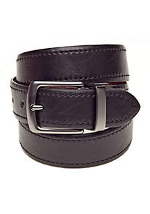 Reversible Adamine Leather Belt