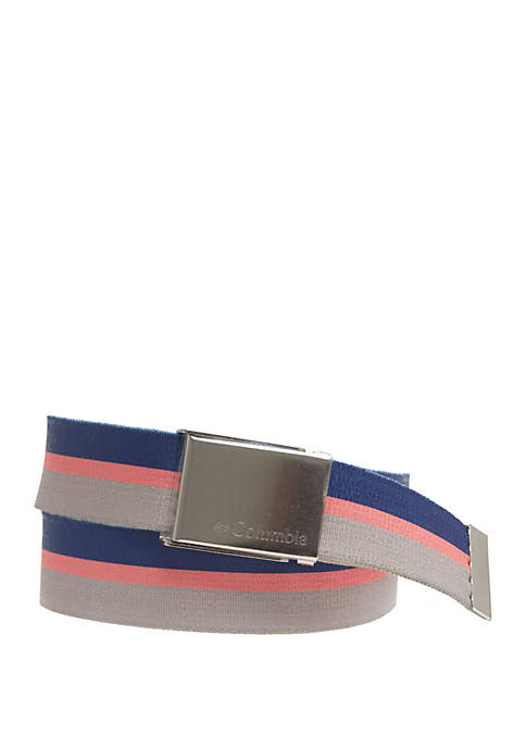 Columbia PFG Fabric Reversible Casual Belt