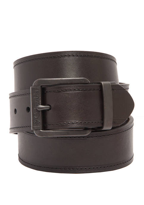 Leather Reversible Casual Belt