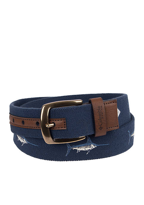 Columbia PFG Stretch Marlin Belt