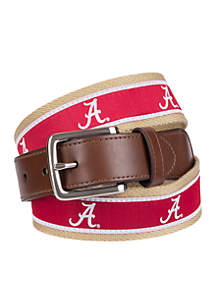 Collegiate Collection Alabama Ribbon Brown Belt