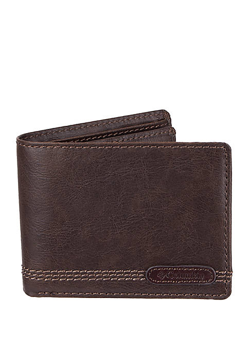 Columbia RFID Capacity Slim-fold Wallet