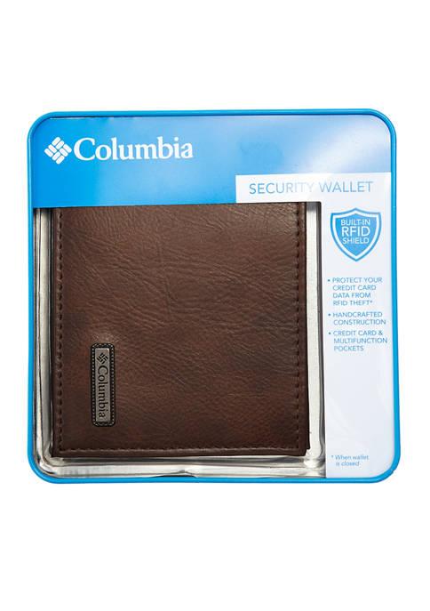 Columbia RFID X-Cap Slimfold Wallet