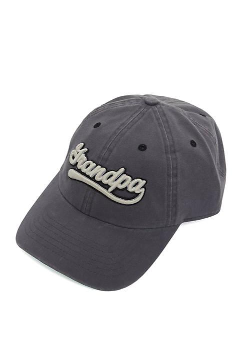 Chenille Grandpa Patch Hat