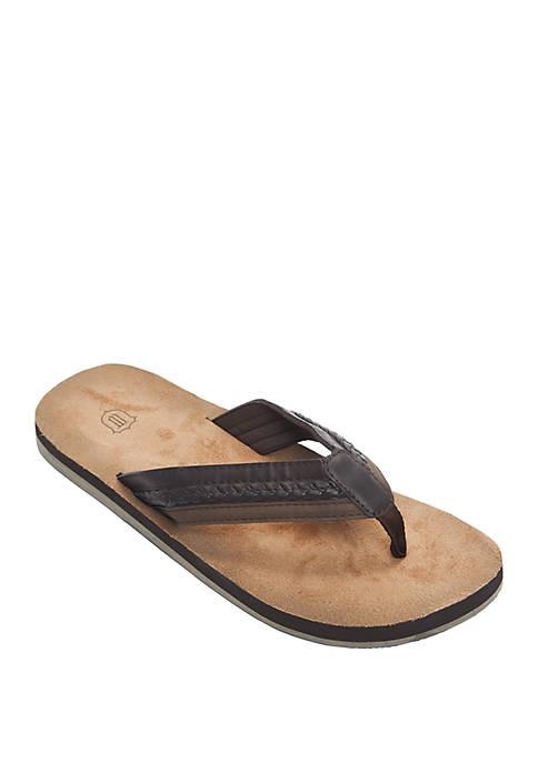 Braided Thong Flip Flop Sandals