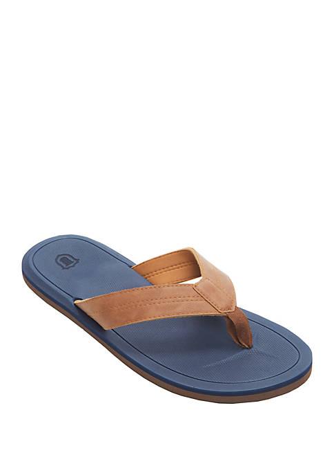 Embossed EVA Thong Sandal