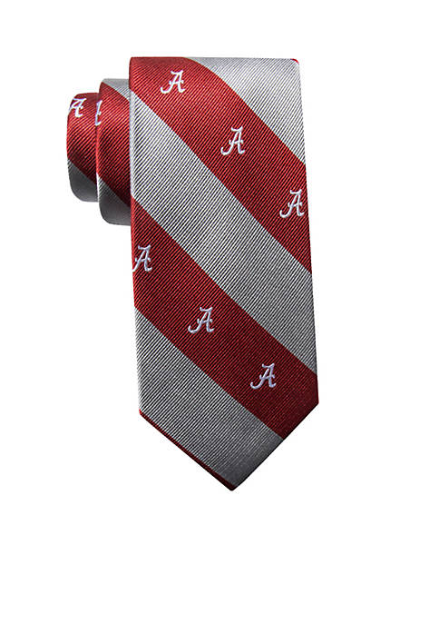 Collegiate Collection Alabama Logo Bar Stripe Tie