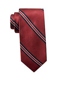 USC Logo Stripe Tie