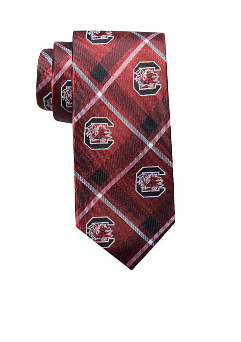 Collegiate Collection South Carolina Gamecocks Plaid Tie