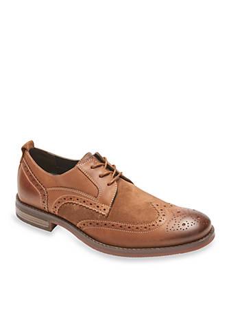 Rockport Wynston Wingtip Toe Shoes
