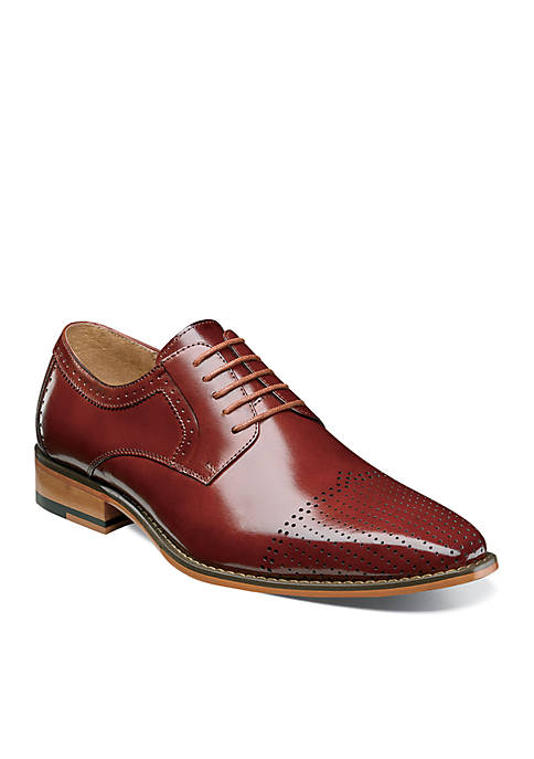 Sanborn Perforated Cap Oxford Dress Shoe