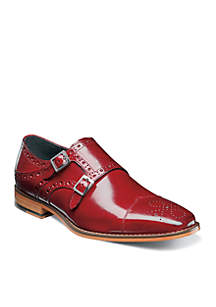 Stacy Adams Tayton Double Buckle Slip-On Shoes