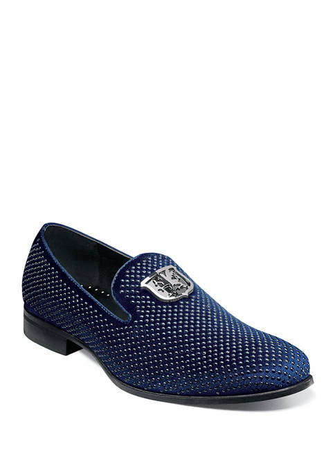 Swagger Studded Ornament Slip Ons