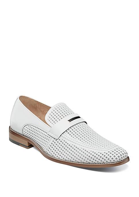 Belvan Moc Toe Oranment Slip On Shoes