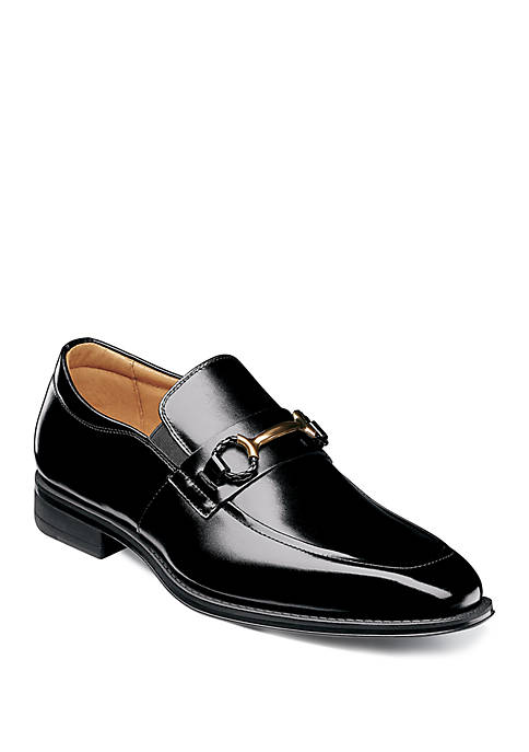 Stacy Adams Pierce Moc Toe Bit Slip On