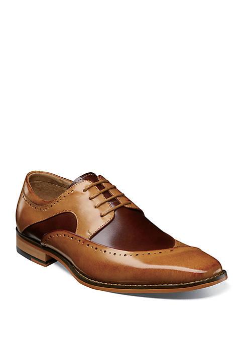 Tammany Folded Moc Toe Oxford Shoes