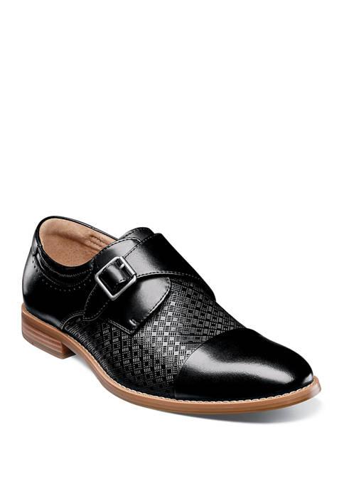 Fenwick Cap Toe Monk Strap Loafers